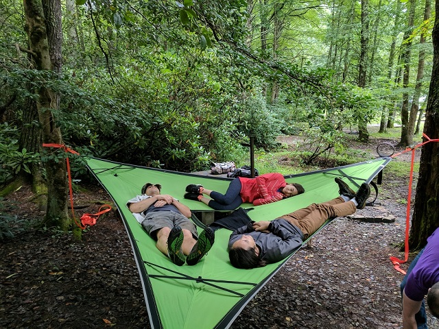 first fly base layer & Tentsile Stingray Review u2013 Unique Three person Floating Tree house ...