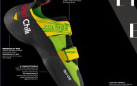 Voltage climbing shoes features