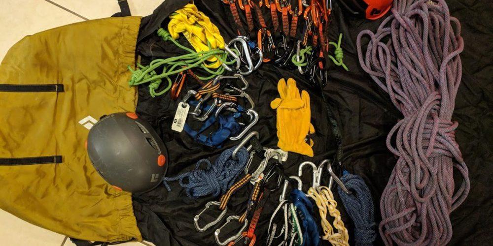 Equipment Needed for Rock Climbing - Sport Climbing Outdoor Gear ... fe86e03b8240